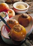 Bratäpfel gefüllt mit Mus aus Quitten
