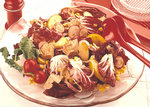Bunter Rohkost-Salat mit Radicchio