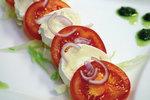 Tomate-Mozzarella Salat