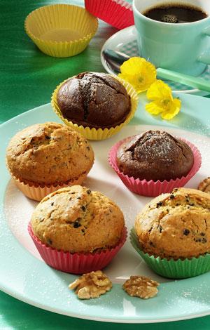 Nuss-Mandel-Muffins