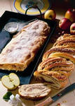 Traditioneller Apfelstrudel