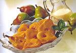 Frittierte Birnen