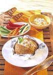Leckerer Meerretich Dip mit Kartoffeln