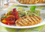 Vegetarisches Filet mit Nudeln