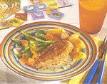 Sanft zubereitetes Hähnchen in Sahnesauce