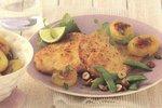Pikantes Putenschnitzel mit Gemüse