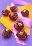 Schokoladige Nougatpralines
