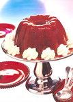 Süßer Pflaumenpudding