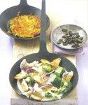 Leckeres Putengeschnetzeltes mit Gemüse und Pilzen