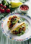 Fleischige Tacos