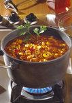 Hackfleisch-Bohnensuppe in Art der Toskana