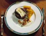 Leckere Tournedos mit Pfifferlingen