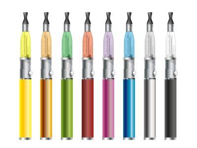 Bunte E-Zigaretten