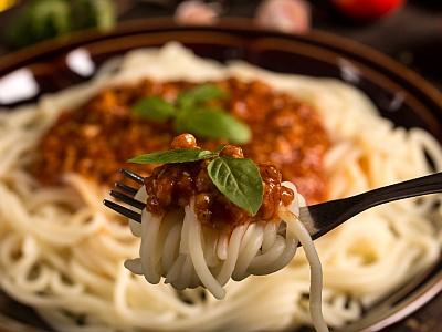 Teller Spaghetti Bolognese