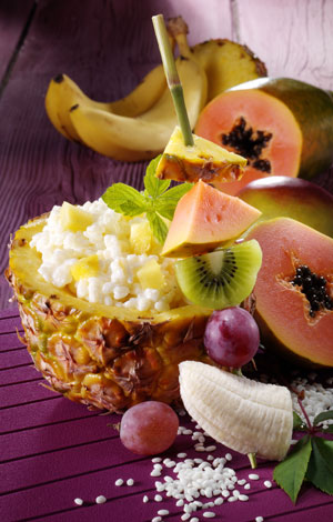 Ananas-Kokos-Milchreis
