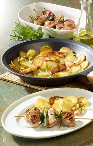 Apfel-Kartoffel-Pfanne