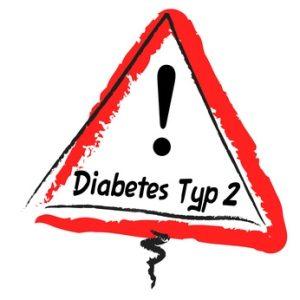 Schild Diabetes Typ 2
