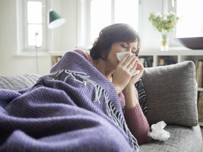 Anfang Februar steigt die Grippegeahr.