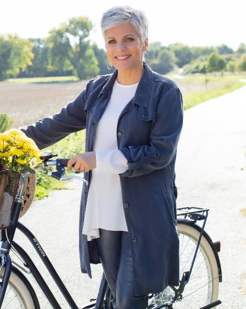 Ein Fitnesstipp von Birgit Schrowange