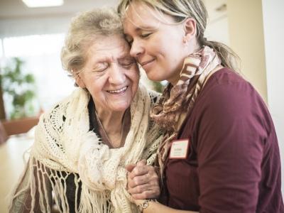 Weihnachten feiern mit Alzheimer Patienten