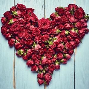 Freude bereiten am Valentinstag