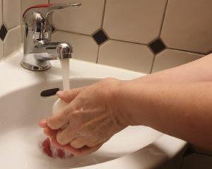 Händewaschen strapaziert die Haut