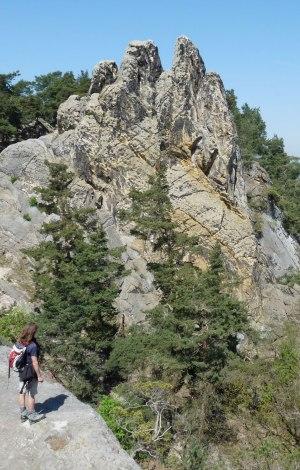 Die Felsformation Teufelsmauer war Drehort für die Päpstin und Der Medicus