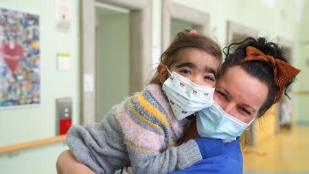 Im Deutschen Herzzentrum Berlin war Elena wegen eines angeborenen Herzfehlers in Behandlung