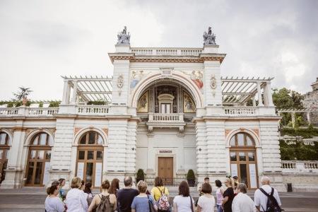 Die Sisi-Straße verbindet verschiedene Schauplätze aus Kaiserin Elisabeths leben
